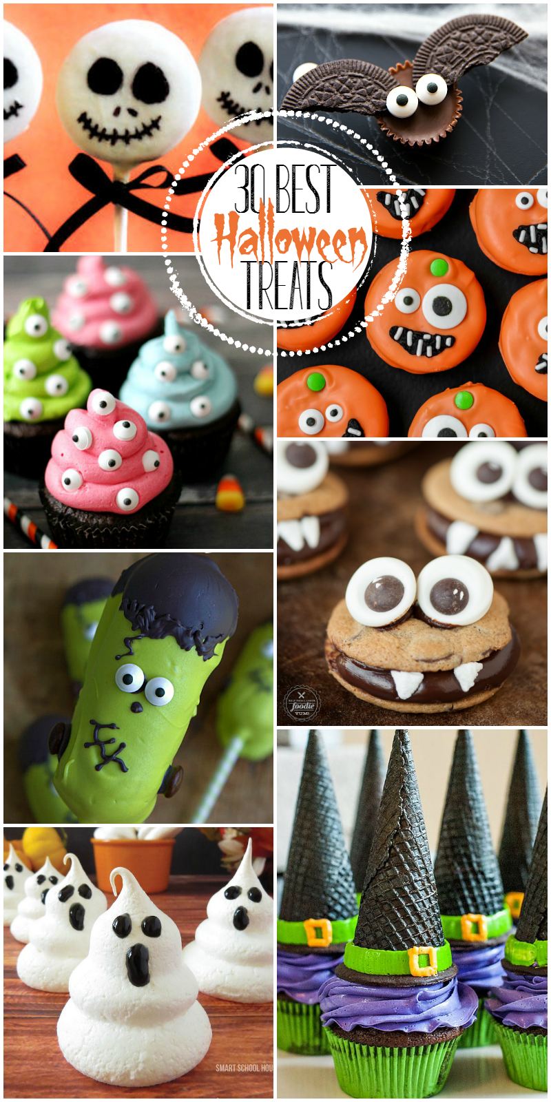 Best Halloween Party Desserts.30 Best Halloween Treats From Spooky To Adorable These Treats And Desserts Are Perfect For Par Halloween Treats Halloween School Treats Fun Halloween Treats