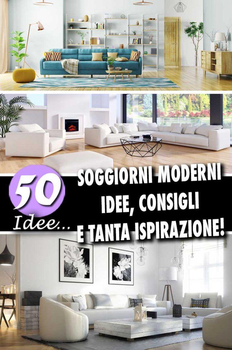 Soggiorni moderni: 50 idee per un arredamento moderno in salotto ...