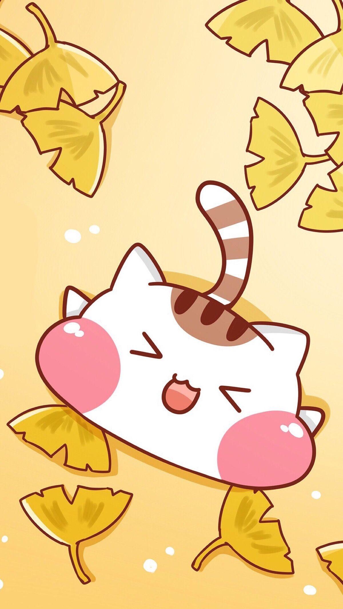 Save Follow Me Paa Kucing Lucu Cute Wallpapers Kawaii