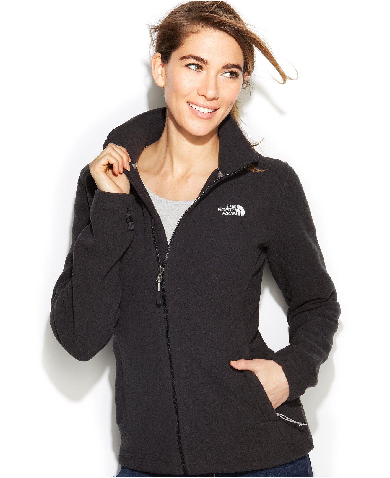 The North Face Khumbu Fleece Jacket Jackets Blazers Women Macy S Blazer Jackets For Women Fleece Jacket North Face Outfits [ 1616 x 1320 Pixel ]