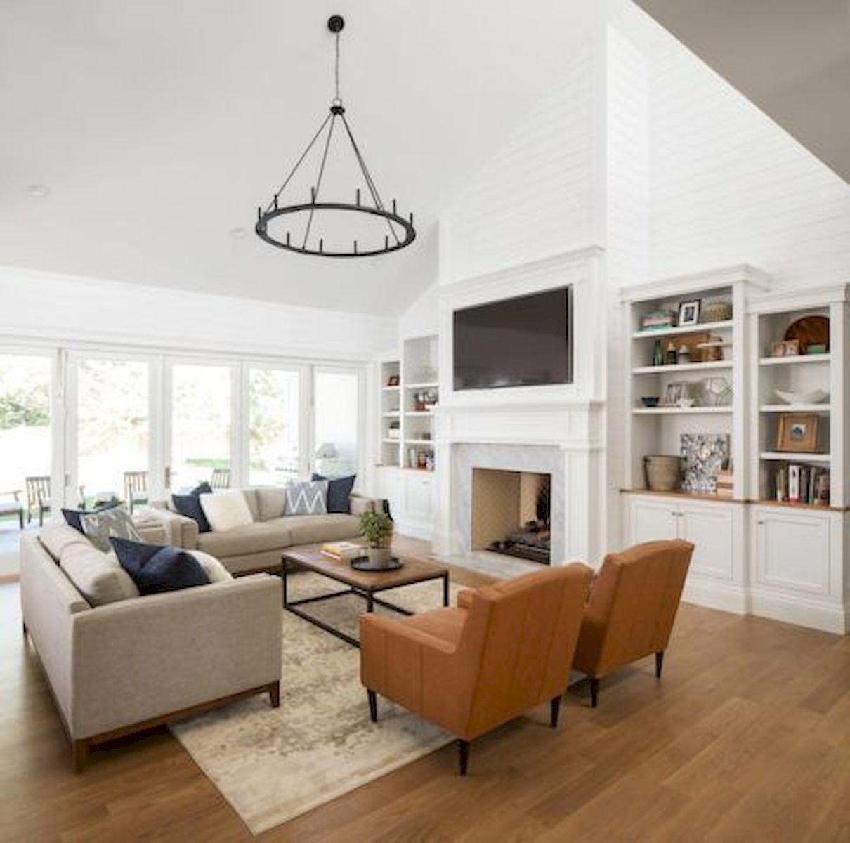 40 best modern farmhouse sofa family rooms decor ideas and