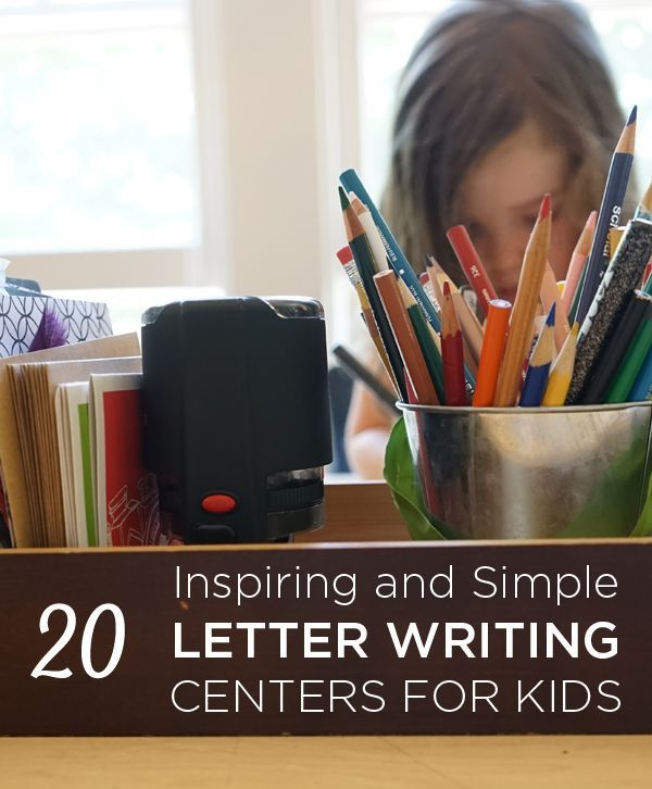 Inspiring Letter Writing Centers  Writing Centers Literacy