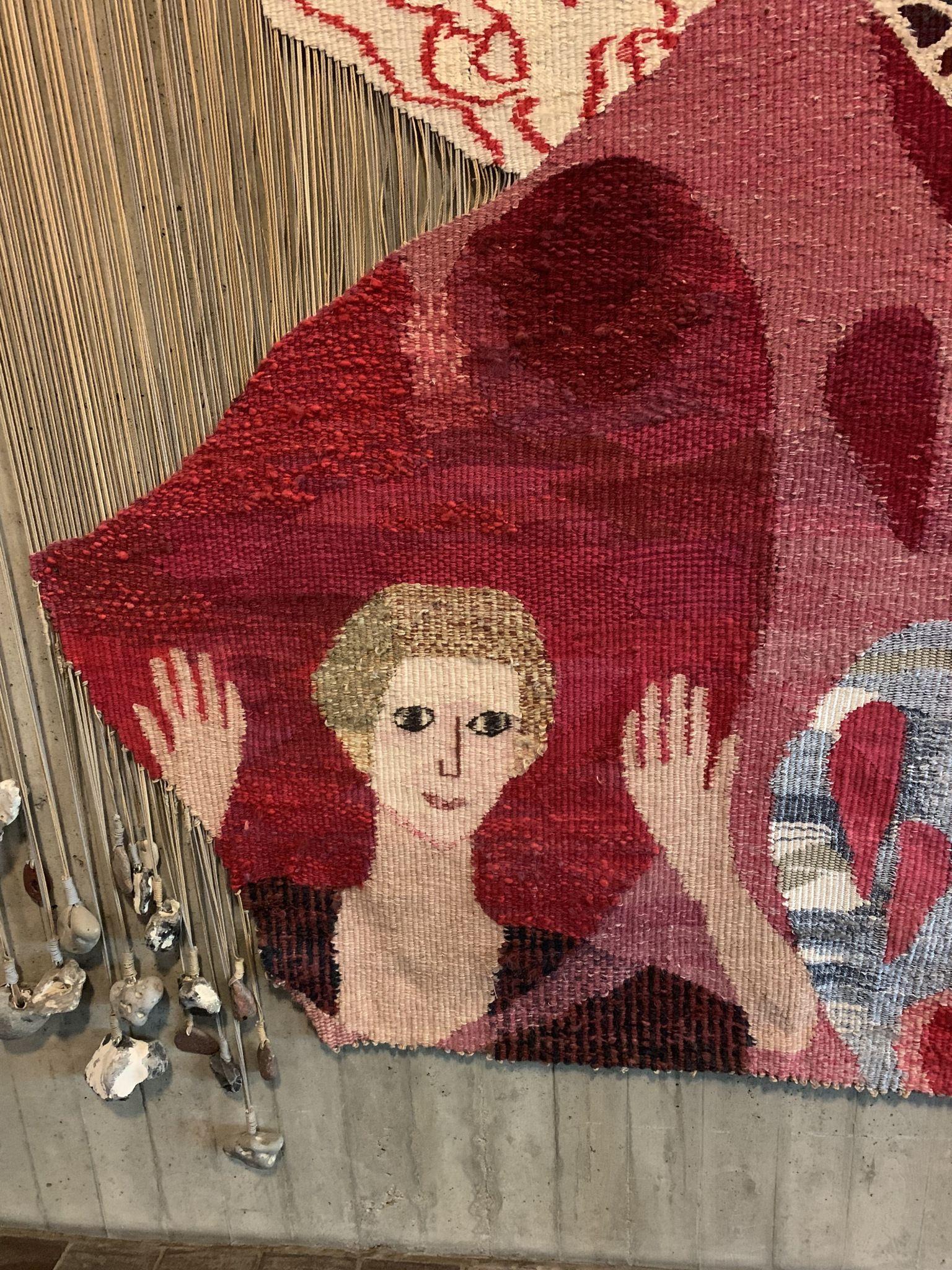 Frida Hansen is Not the Only Open-Warp Norwegian Tapestry Weaver – Robbie LaFleur