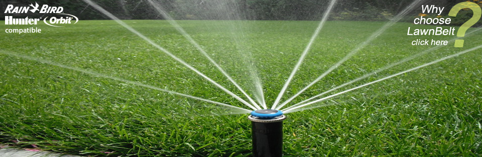 Tired Of Watering The Lawn And Garden By Hand Now You Can Install Your Own Automated Sprinkler Sys Lawn Sprinkler System Sprinkler System Diy Lawn Irrigation