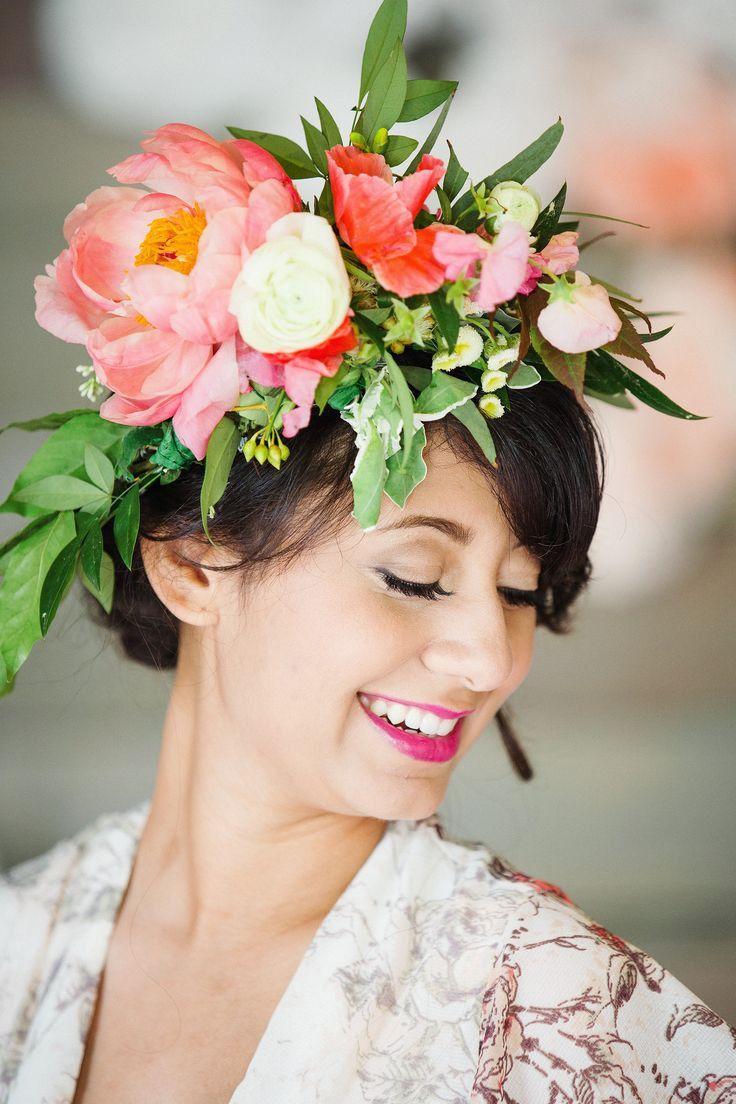 Flower crown custom fresh flower fresh flowers flower crowns and flower crown custom fresh flower izmirmasajfo Gallery