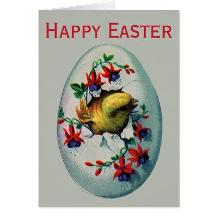 Retrovintage easter chick card retro gifts style cyo diy retrovintage easter chick card retro gifts style cyo diy special idea negle Images