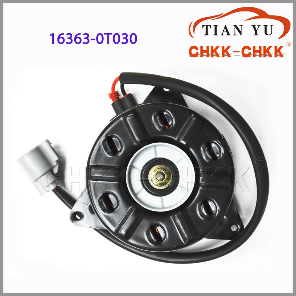 Radiator Fan Motor For Toyota Corolla Zre120 Cooling Fan Motor