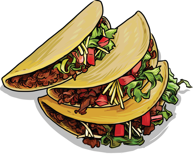 Image Result For Taco Clipart Png Mexico Food American Cuisine Taco Clipart