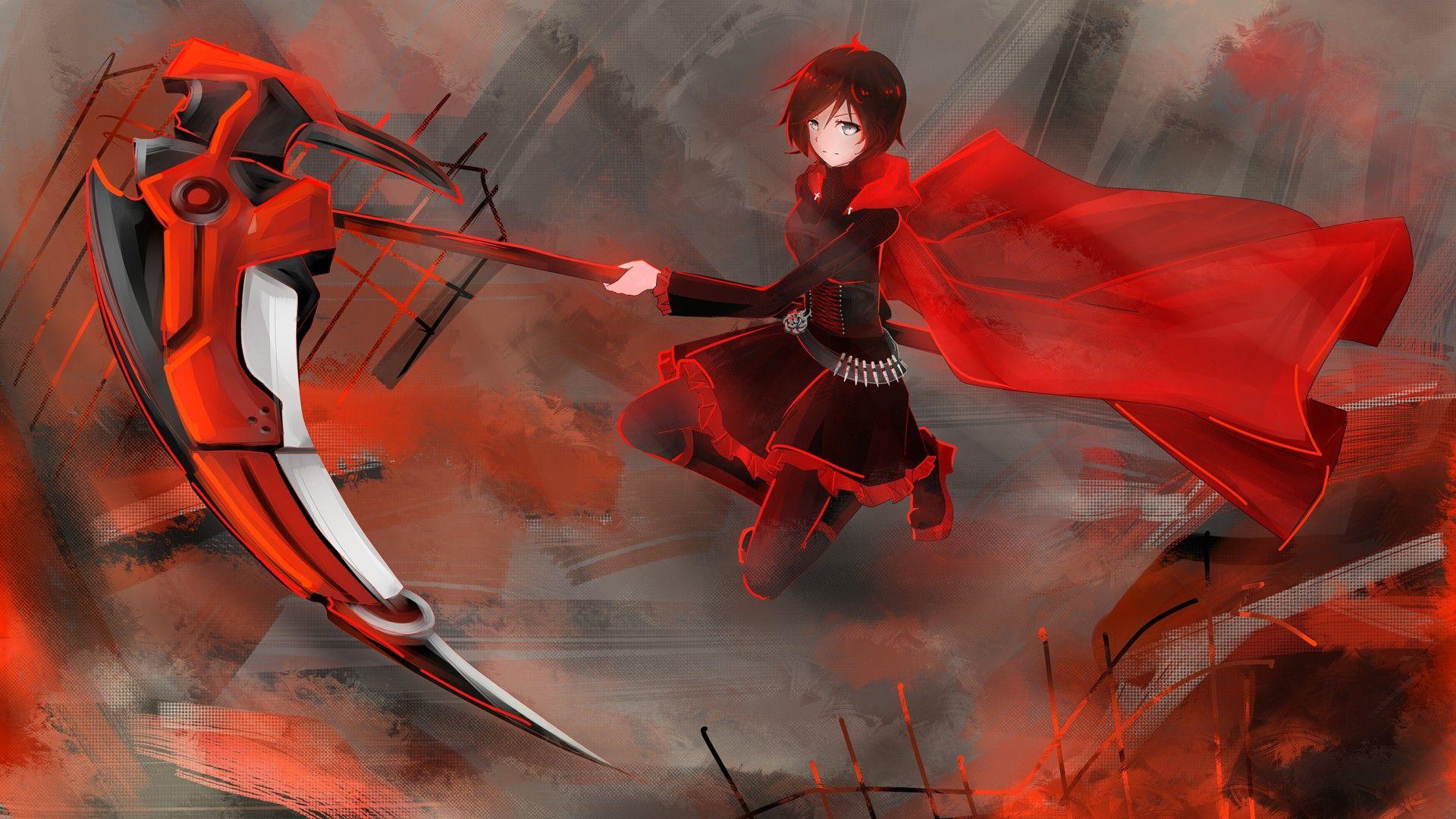 Rwby Wallpaper Ruby Rose Rwby Rwby Wallpaper Rwby Anime
