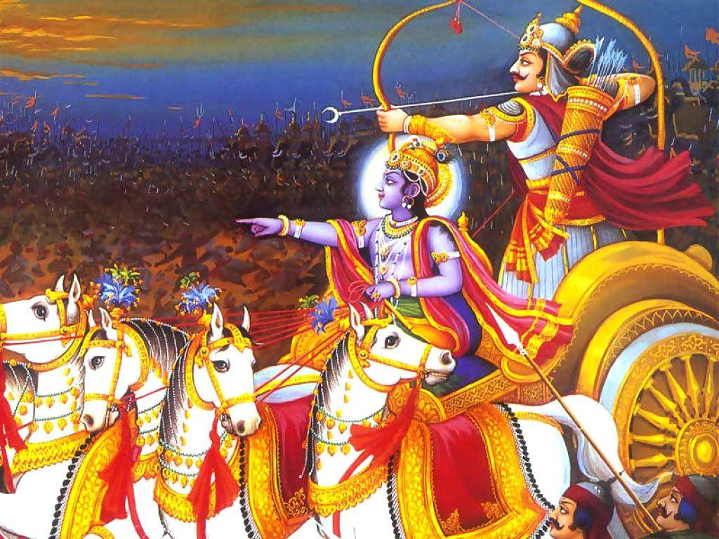 Mahabharata Krishna Hd Wallpaper