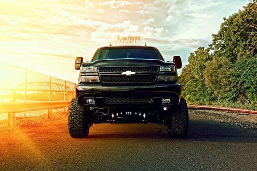 Chevrolet Hdr Black Pickup Hot Rod Rods Wallpaper Jacked Up Trucks Trucks Diesel Trucks