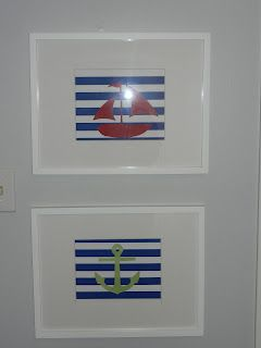 DIY nautical art- Now to figure out how to do this in Photoshop.