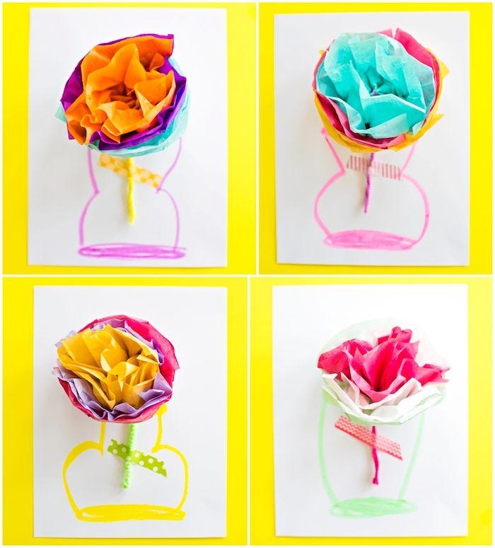 ▷ 1001 + tutoriels et idées DIY de cadeau fête des mères maternelle
