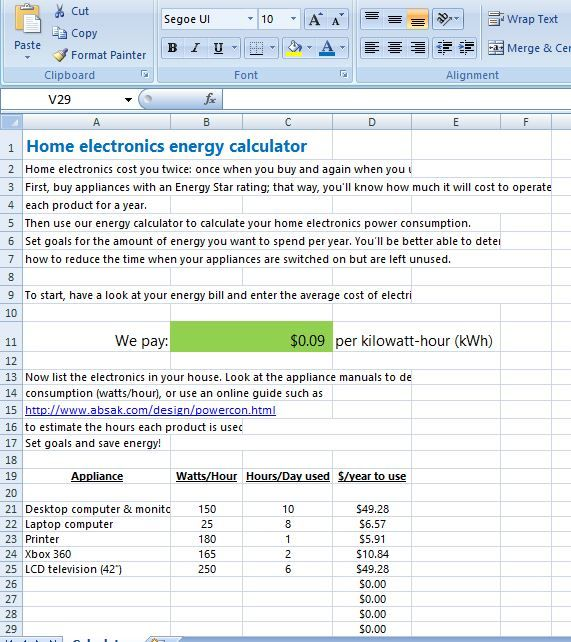Energy cost calculator is very useful calculator that helps you ...