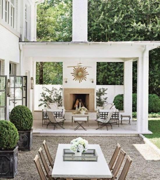 Desain Teras dan Taman dengan Nuansa Kesejukan  Home Decoration Ideas  Pinterest  Dan Patios
