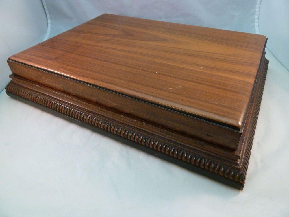Vintage Flatware Silverware Storage Box Wm Rogers u0026 Son Non Tarnish Wooden Chest & Vintage Flatware Silverware Storage Box Wm Rogers u0026 Son Non Tarnish ...