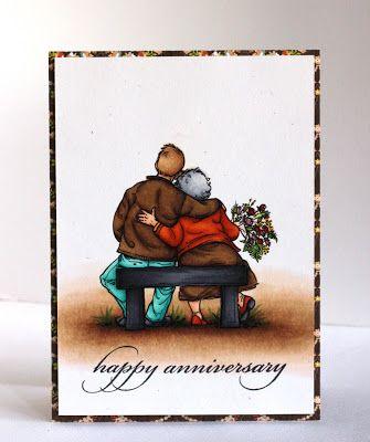 Anniversary Card By Alice Wertz Happy Anniversary Cards Funny Anniversary Cards Anniversary Cards Handmade