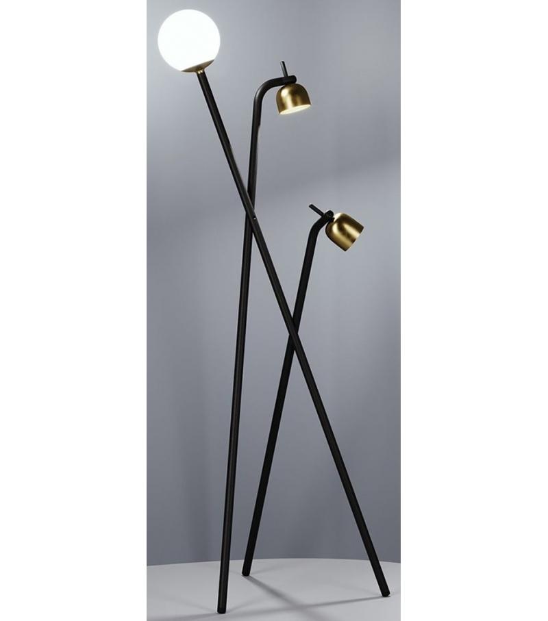 Tripod Fontana Arte Lampada Da Terra 1 300euro Circa Lampade Da Terra Lampade Illuminazione