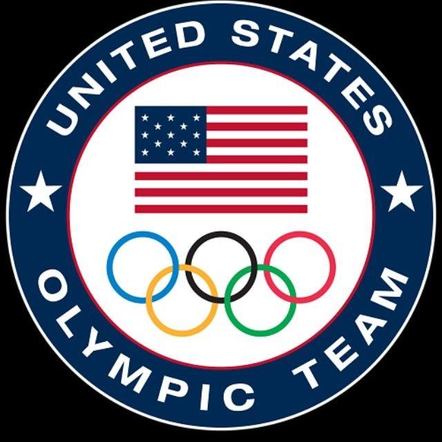 United States Olympic Team Logo 3 X 3 Fridge Magnet Beer Olympics