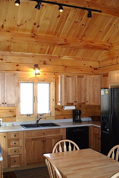 descubran hickory u una pequea cabaa de madera con un diseo flexible