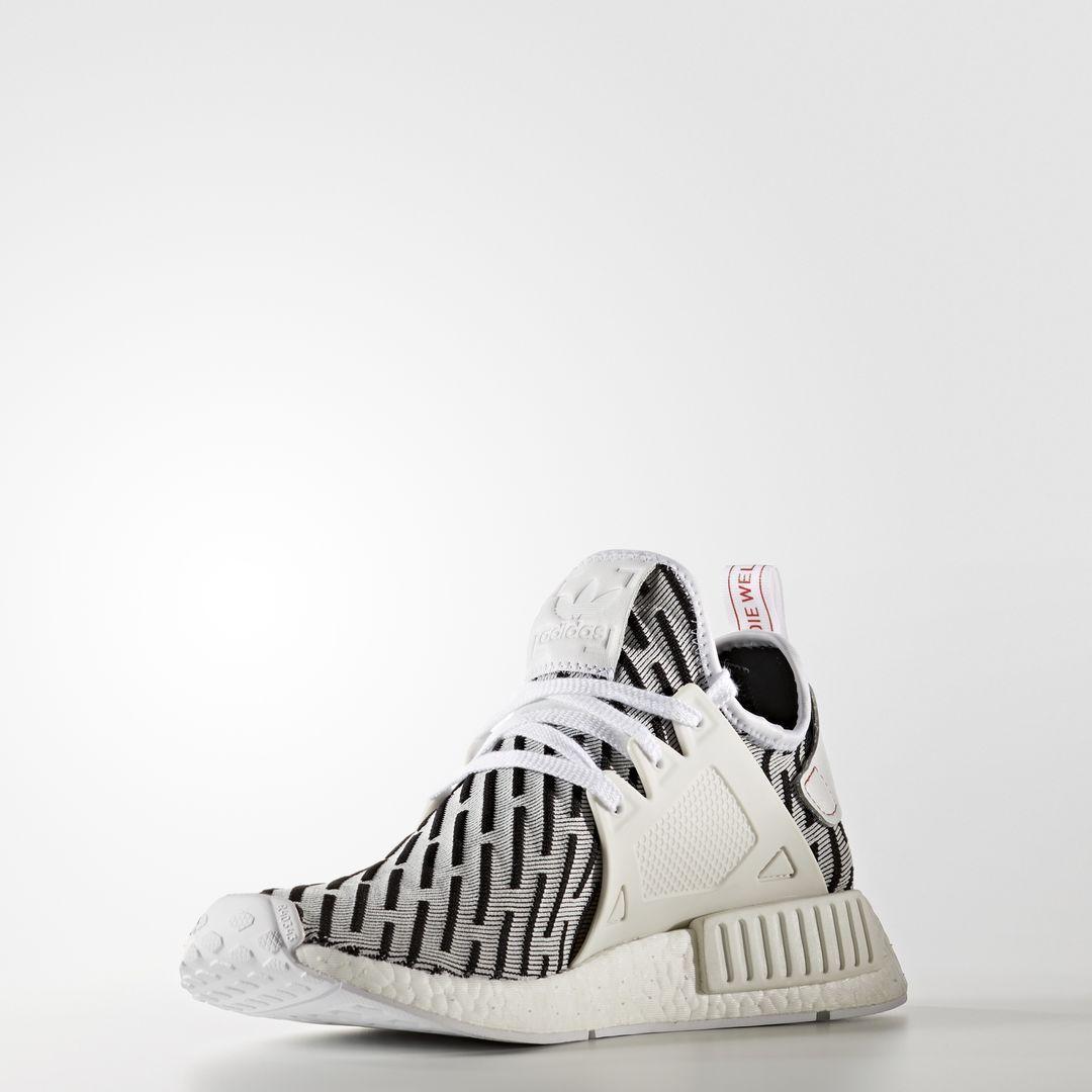 Adidas NMD XR1 PK Zebra / BB2911 / Mens Primeknit Core Black Ftw Footwear  White