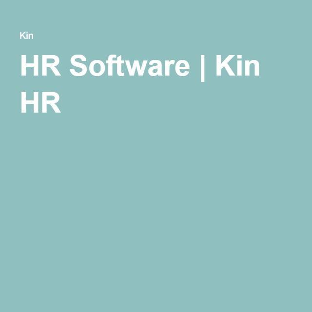 HR Software Kin HR HR Geek Out Pinterest Software and Filing