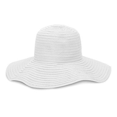 d1123f8d6e59 wallaroo Women's Scrunchie Sun Hat – Lightweight and Packable Sun Hat – UPF  50+ – Solid White Review