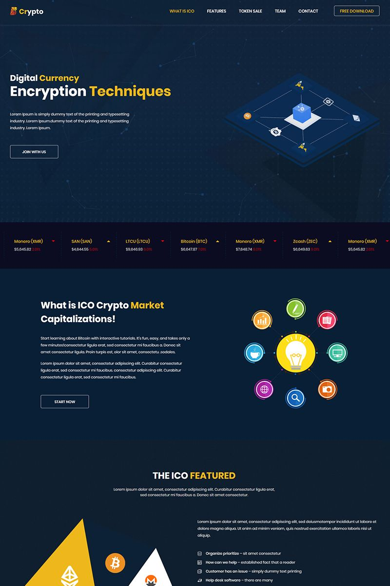 bcrypto ico bitcoin and cryptocurrency website template. Black Bedroom Furniture Sets. Home Design Ideas