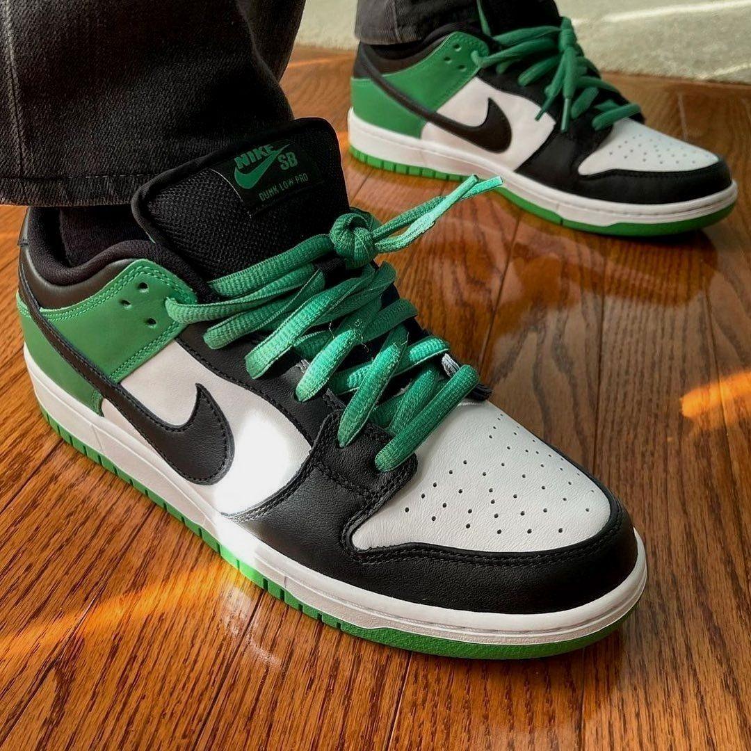 Nike Sb Dunk Low Classic Green In 2021 Nike Nike Sb Dunks Nike Sb