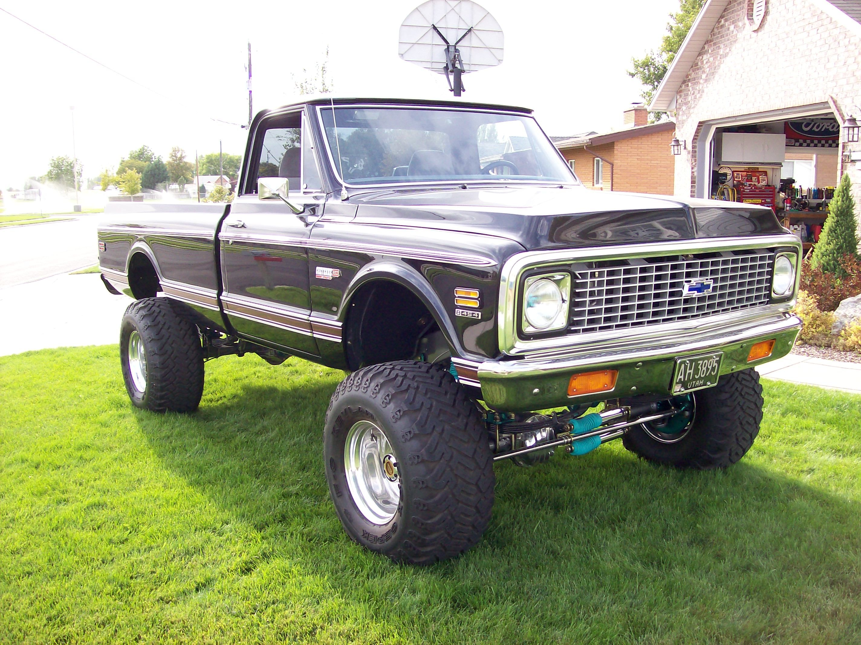 72 Chevy Cheyenne super 4x4 C20 with a 454   Old Chevy 4x4 ...