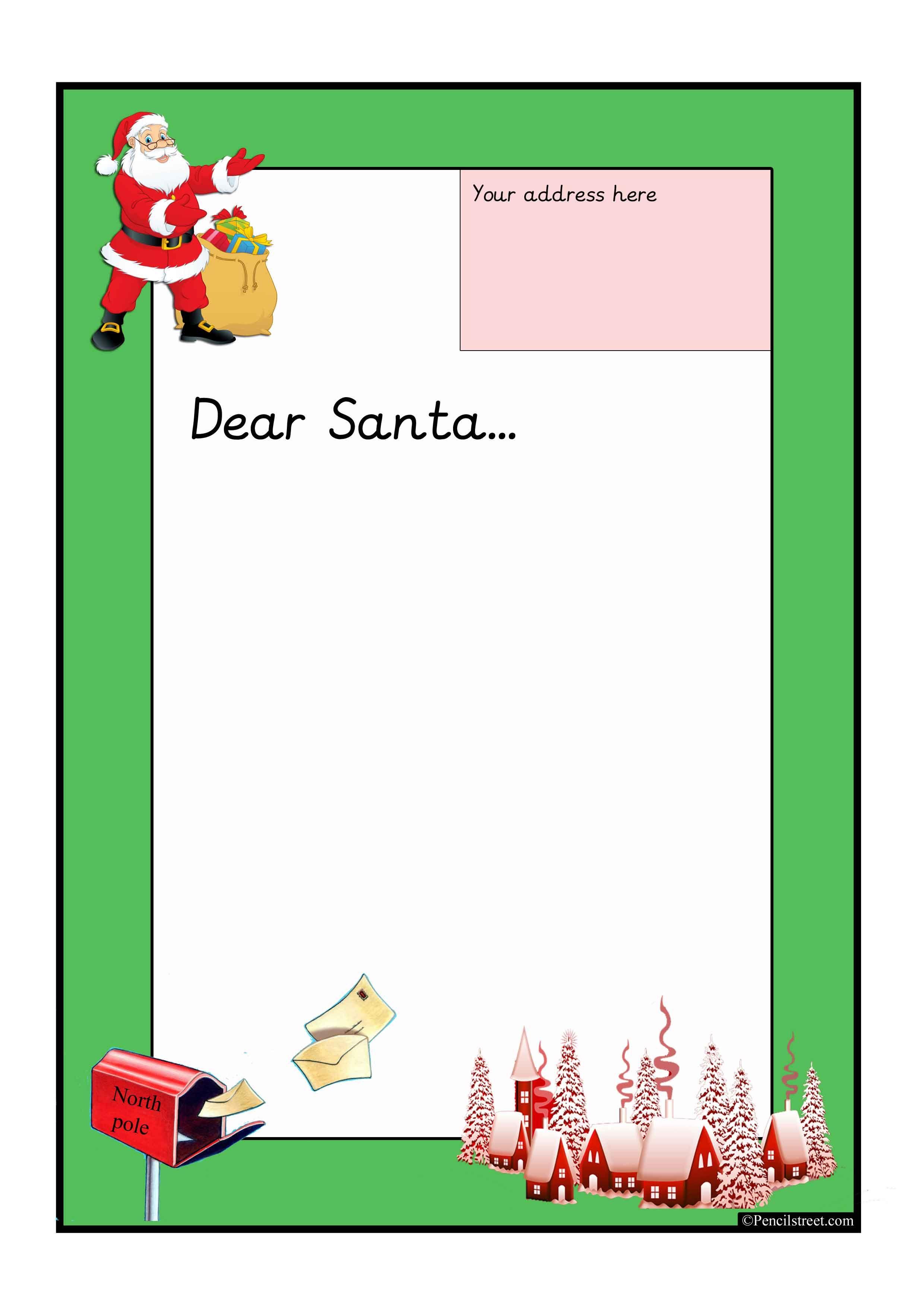 A4 Letter Sheet Starting