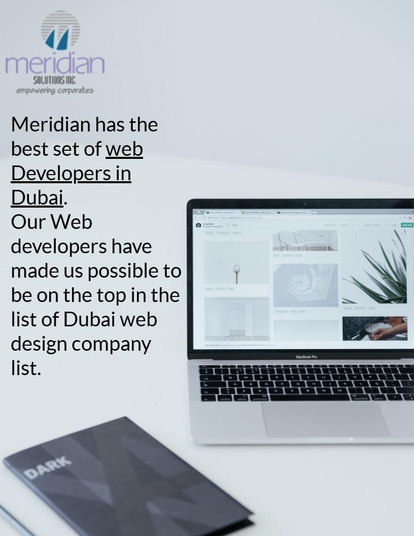 If You Are Looking For A Company That Has The Best Set Of Web Developers In Dubai Then A Must Place Where You Sh Web Design Web Development Web Design Company