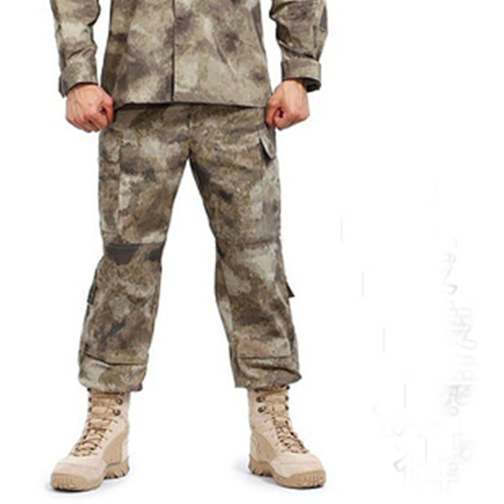 Outdoor Military Training Camouflage  Fatige Trousers Tactical Combat Camo Pants