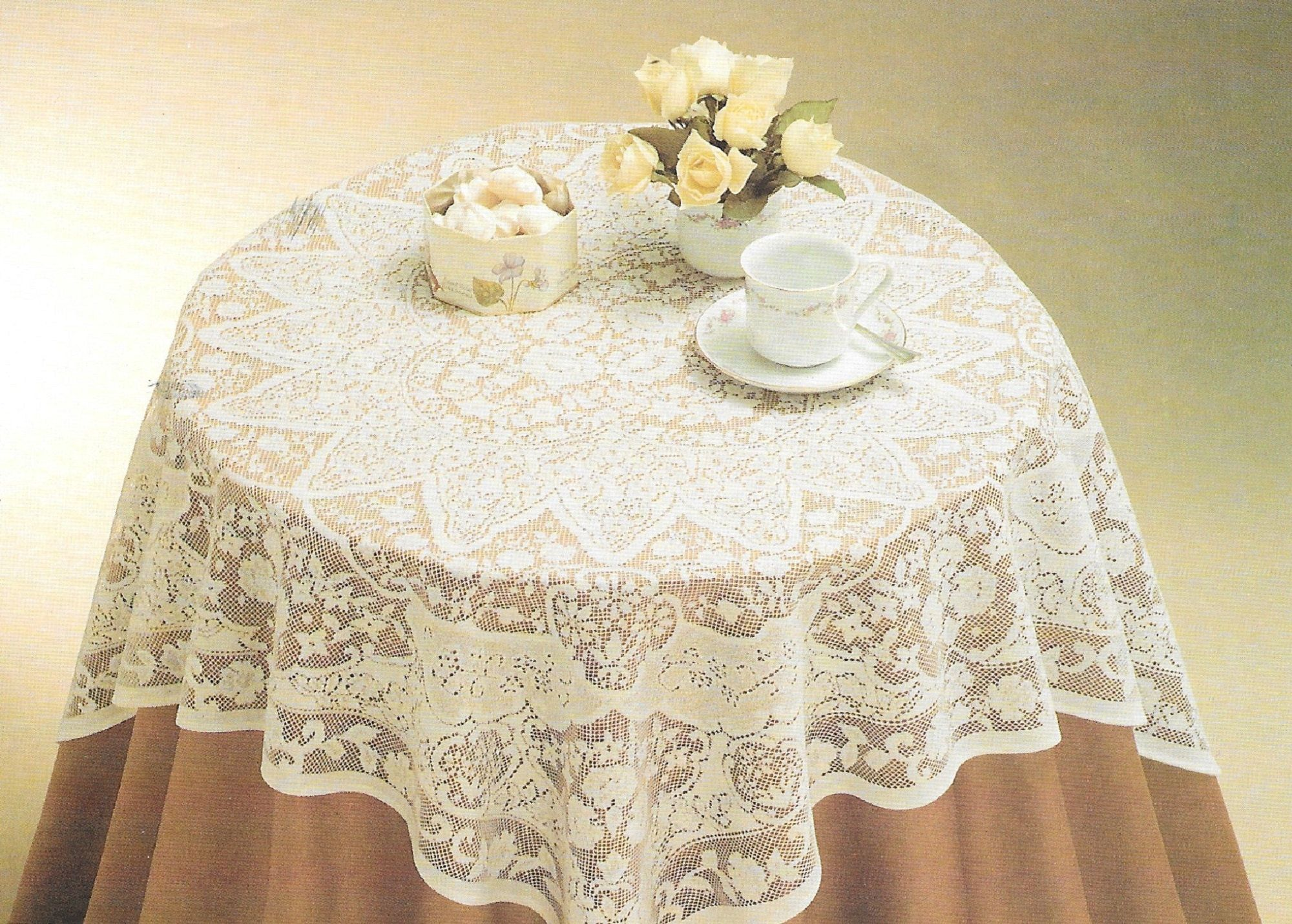 40 Inch Square Lace Small Table Topper Or Table Cover For Etsy In 2020 Lace Tablecloth Table Cloth Tablecloth Sizes