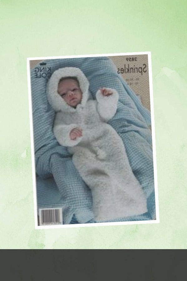 Photo of COOL – Baby GrowBag, baby sleeping bag, baby knitting pattern sleeping bag, baby knitting pat…
