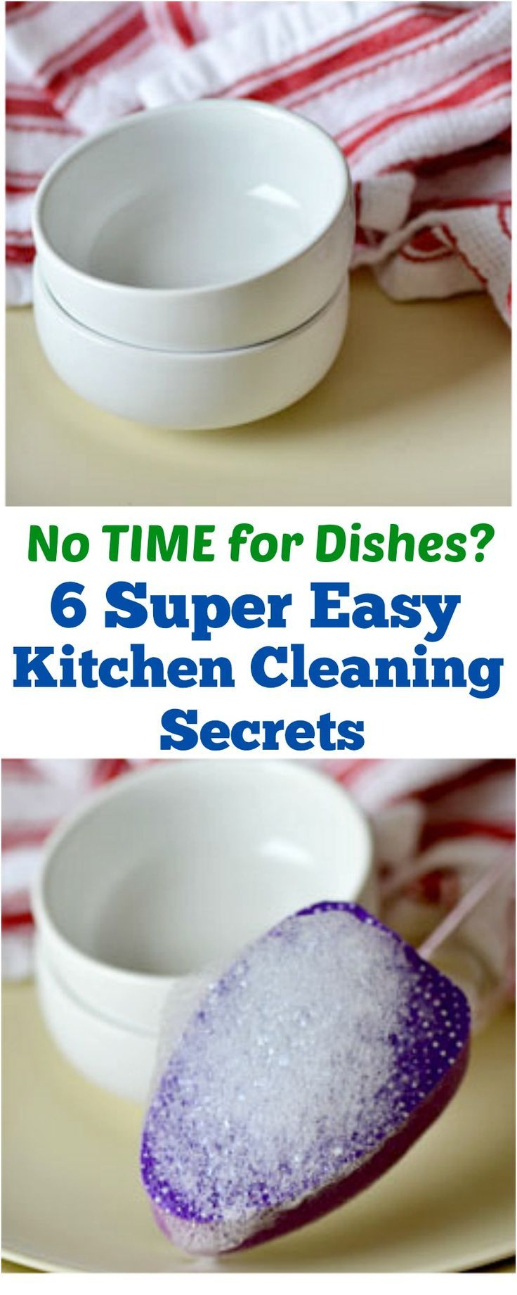 No Time for Dishes? 7 Super Easy Kitchen Cleaning Secrets