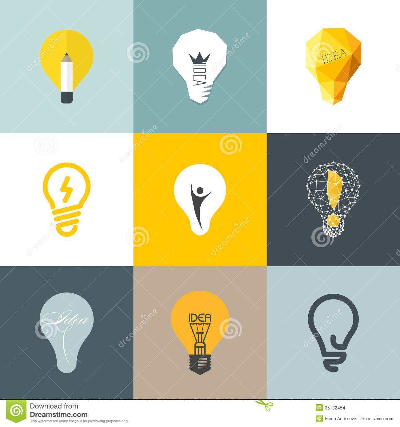 light bulb logo design Google Search Identidade visual