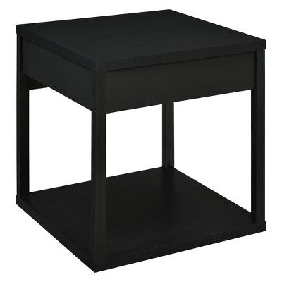 Best George End Table With Drawer Black Room Joy End 400 x 300