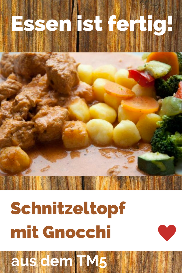 Photo of Schnitzel pot with gnocchi and vegetables