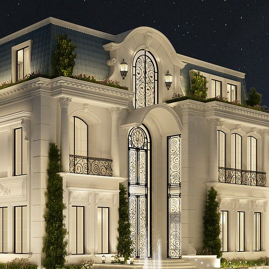 Qatar Luxury Homes: Pin By Nam Vu On Classic Arc