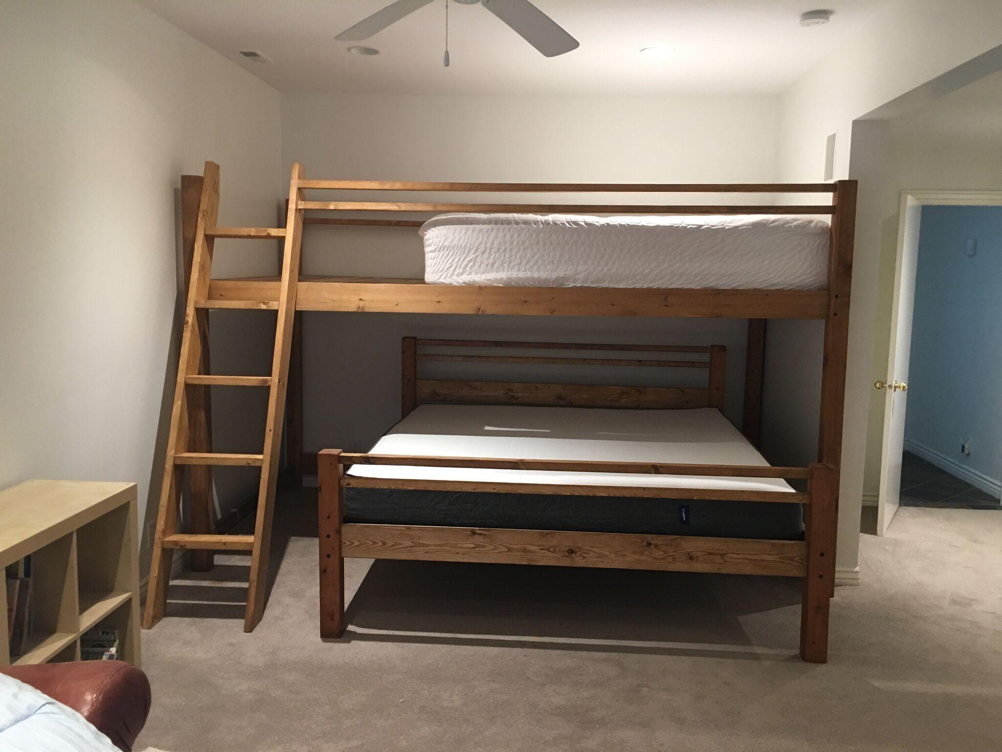 Best Queen Over King Loft Bunk Bed Bunk Beds Queen Bunk Beds 400 x 300