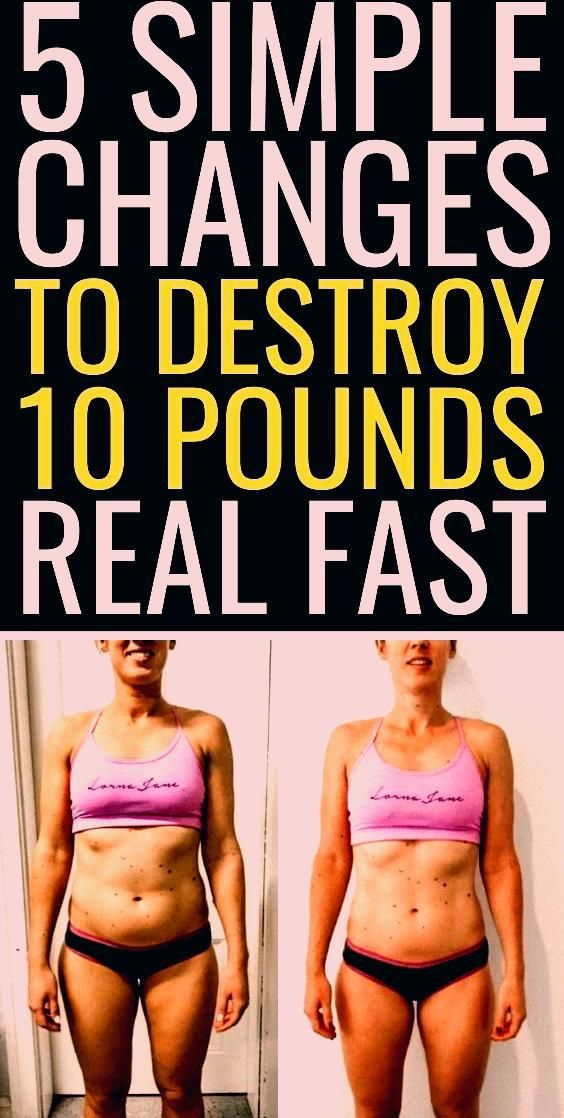 5 simple changes that will make you lose weight for good | best way to lose weight fast | get fit fa...