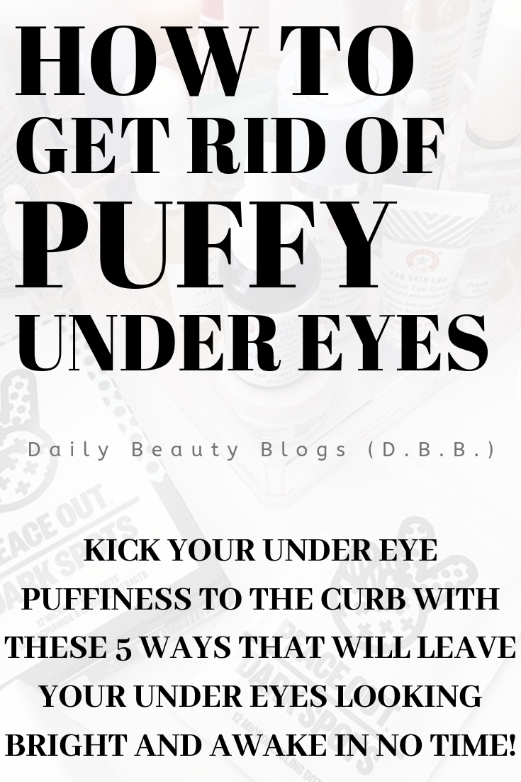 Stop waking up with puffy under eyes when you can be waking