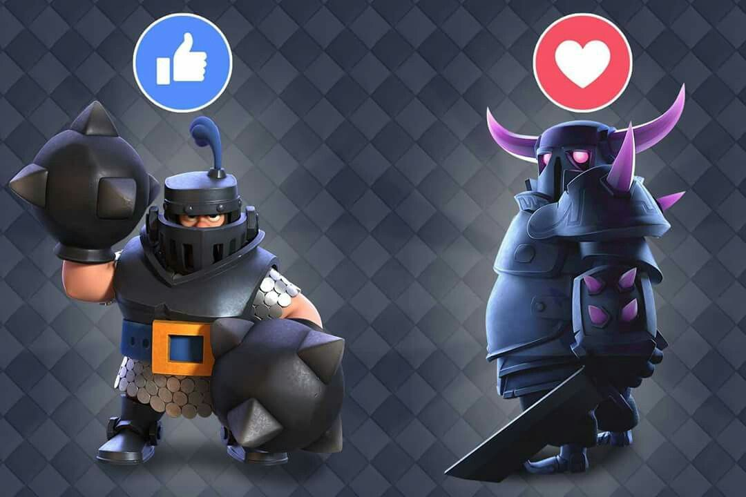 Mega Knight Vs Pekka Characters Diseño De Personajes Personaje