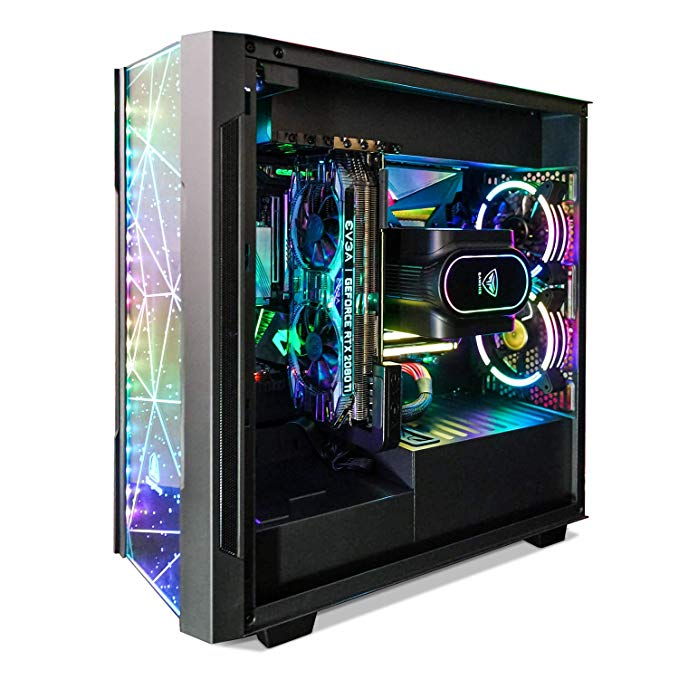 Amazon Com Segotep Phoenix Atx Black Mid Tower Pc Gaming Computer