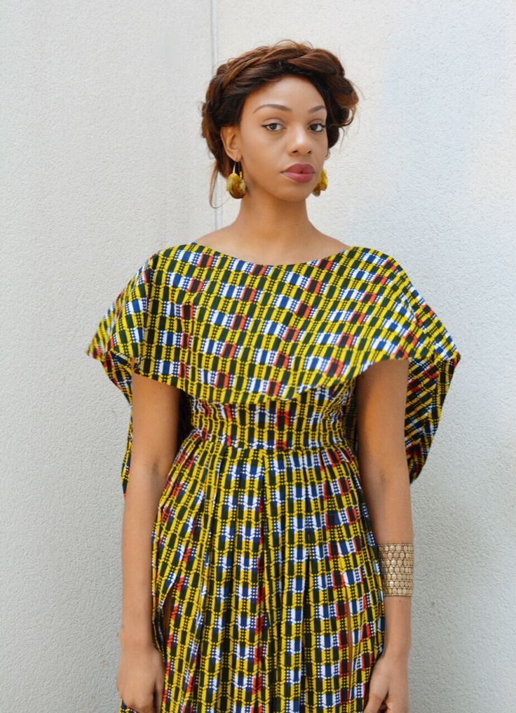 Kitenge Dress Designs For Plus Size