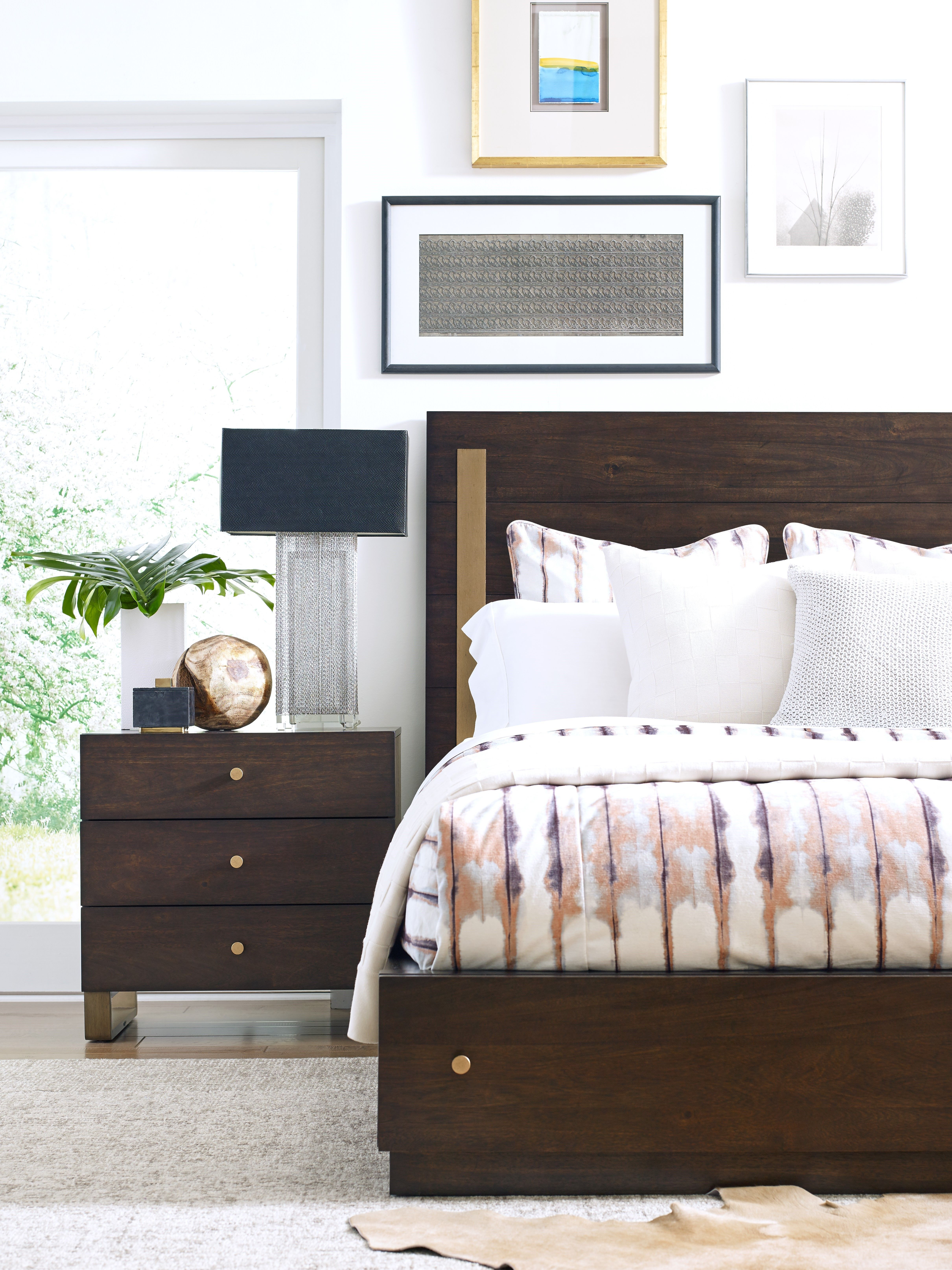 Austin by Rachael Ray Home Panel Bed with Storage