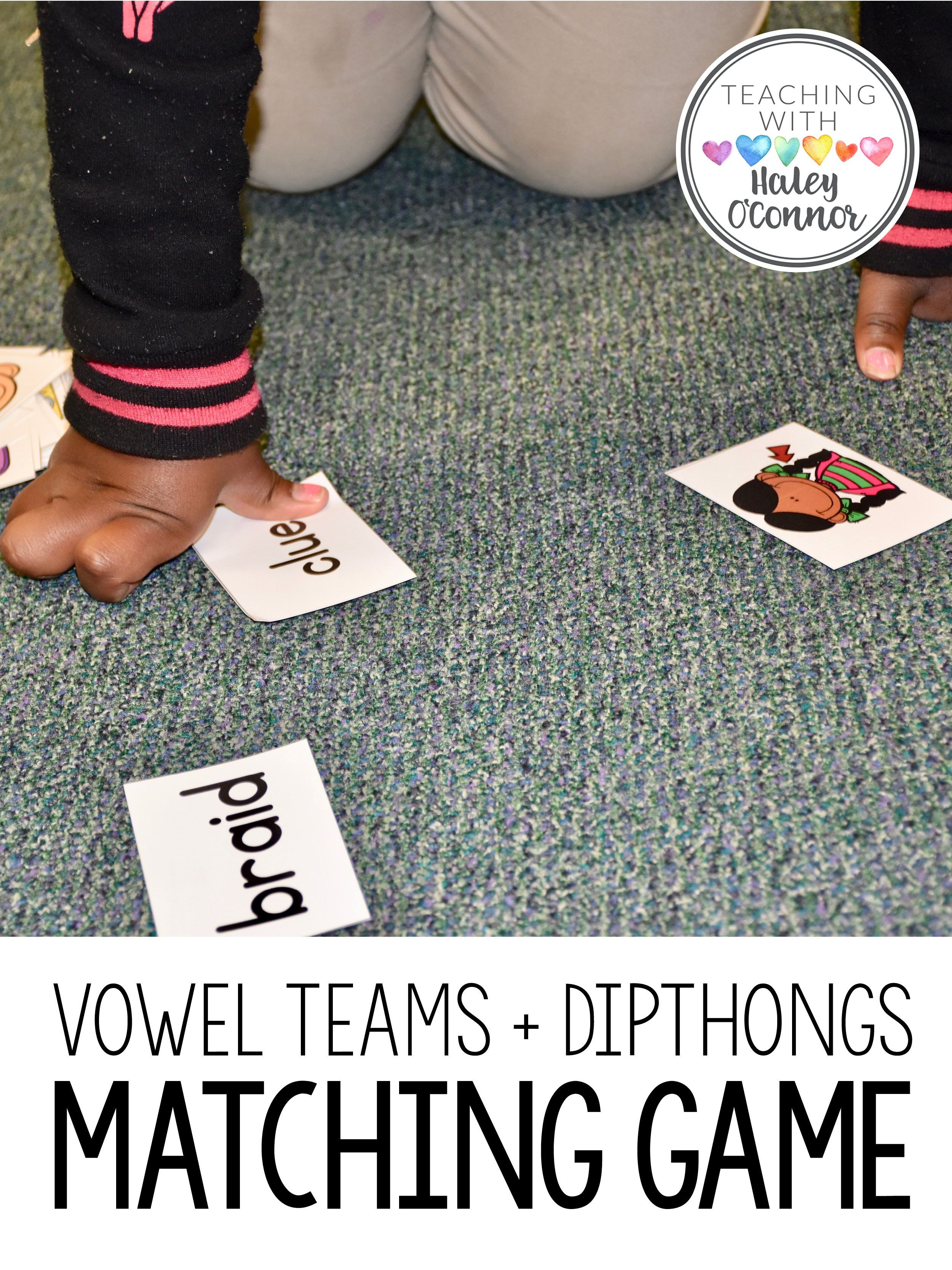 Vowel Teams And Diphthongs Printables Centers And