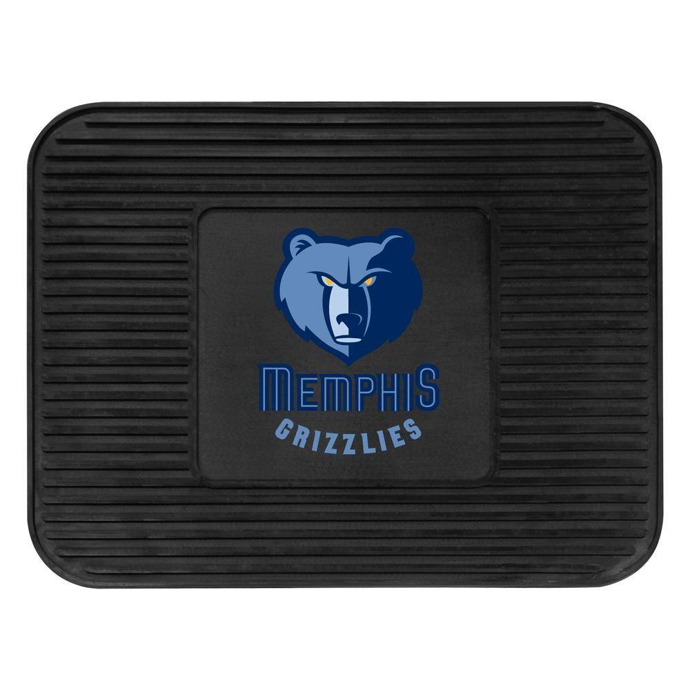 Memphis Grizzlies 14 in. x 17 in. Utility Mat, Black
