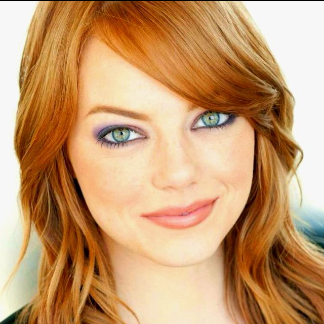 Can I Just Be Her Please Gorgeous Eyes Emma Stone Dark